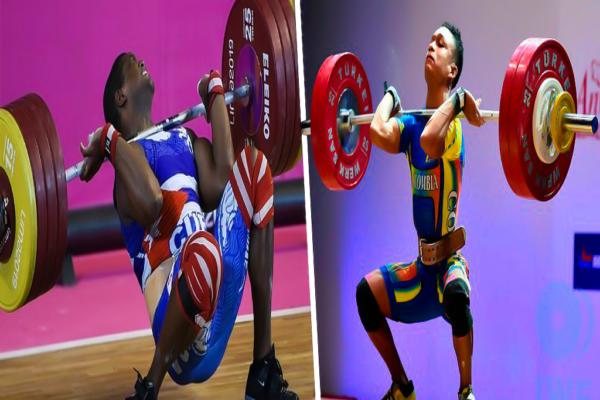 El levantamiento de pesas