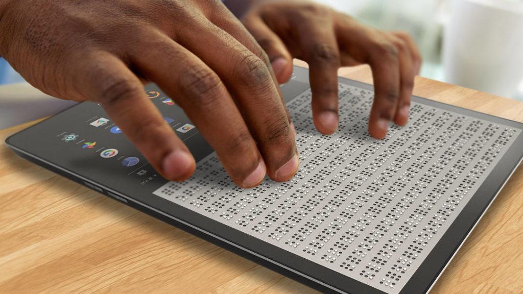 Tablet para ciegos