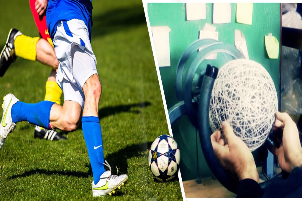 Cómo hacen las pelotas de fútbol