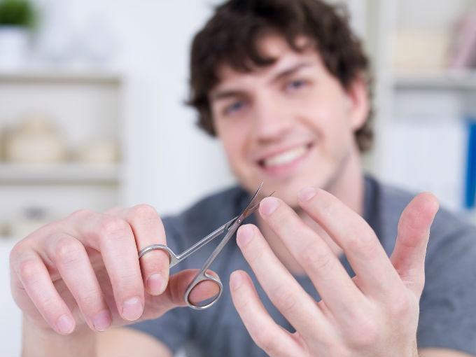 manicura en los hombres 1