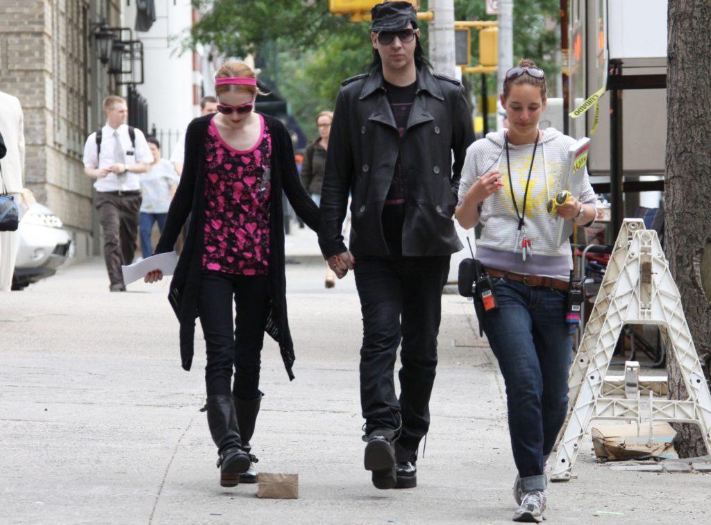 Marilyn Manson se entrega a las autoridades 2