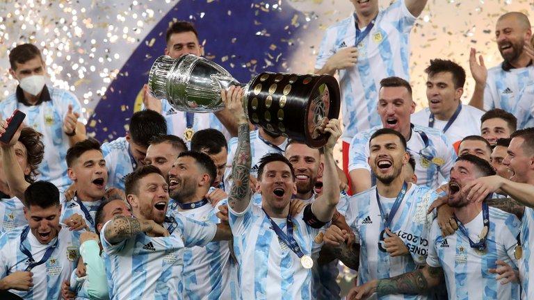 la Eurocopa y la Copa América 2