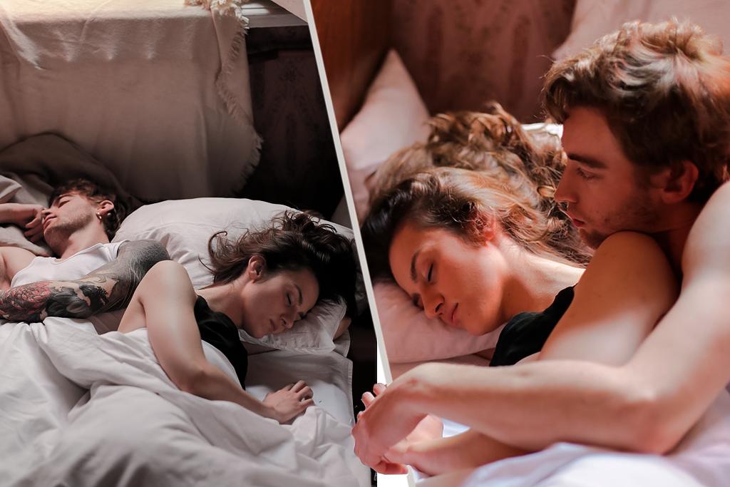 Descubre el significado de la posición al dormir con tu pareja y lo que revela de ti