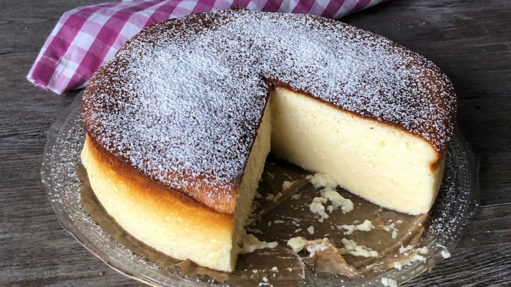 Tarta de queso al microondas