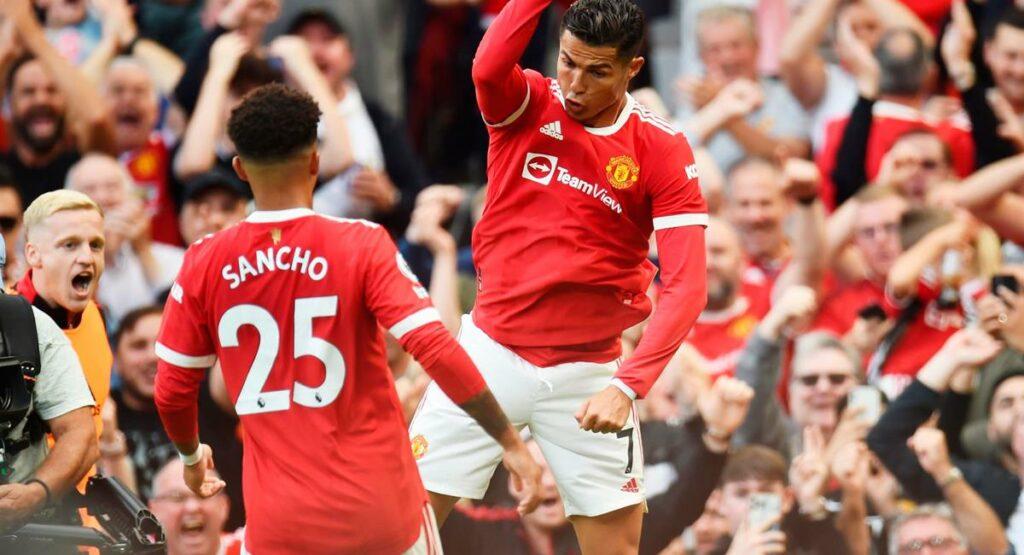 Recorrido de Cristiano Ronaldo por el Manchester United 2