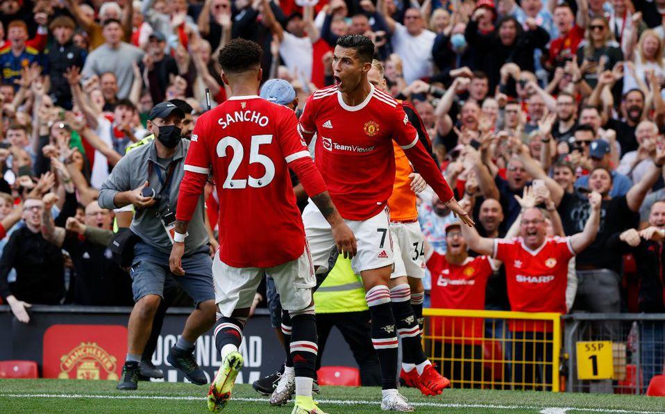 Recorrido de Cristiano Ronaldo por el Manchester United
