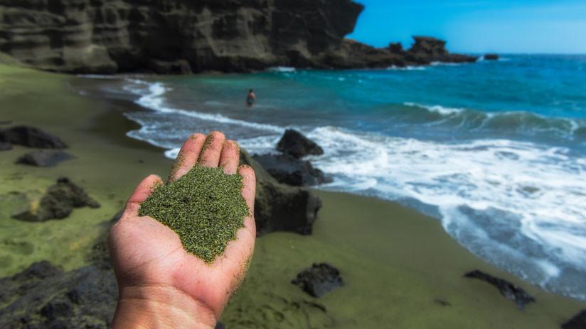 Minerales que deja el magma de un volcán 2