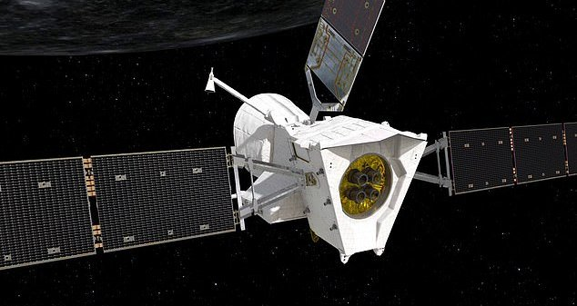 capturan imágenes de Mercurio 2