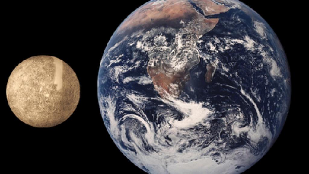 capturan imágenes de Mercurio